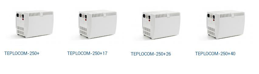 ИБП серии Teplocom 250+ для насосов  системы отопления
