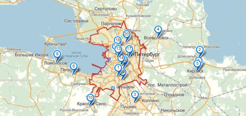 Электросети Санкт-Петербурга