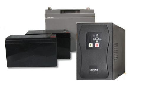Фото комплекта  ИБП SKAT UPS 1000 D и АКБ для ИБП