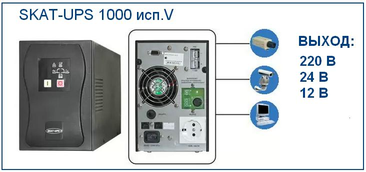 фото ИБП 1000 ВА, UPS 1000 VA, ибп для компьютеров и систем наблюдения
